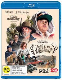Hunt for the Wilderpeople on Blu-ray