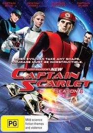 Captain Scarlet - Season 1 on DVD