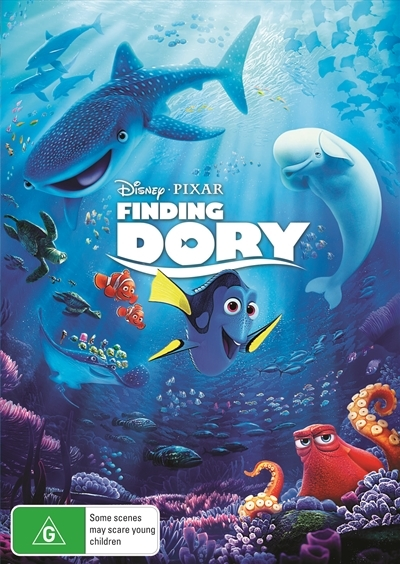 Finding Dory on DVD image