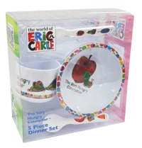 Very Hungry Caterpillar - 5pc Dinner Set