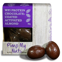 Pimp My Nuts WPI Chocolate Coated Snacks - Chocolate Almond (80g)