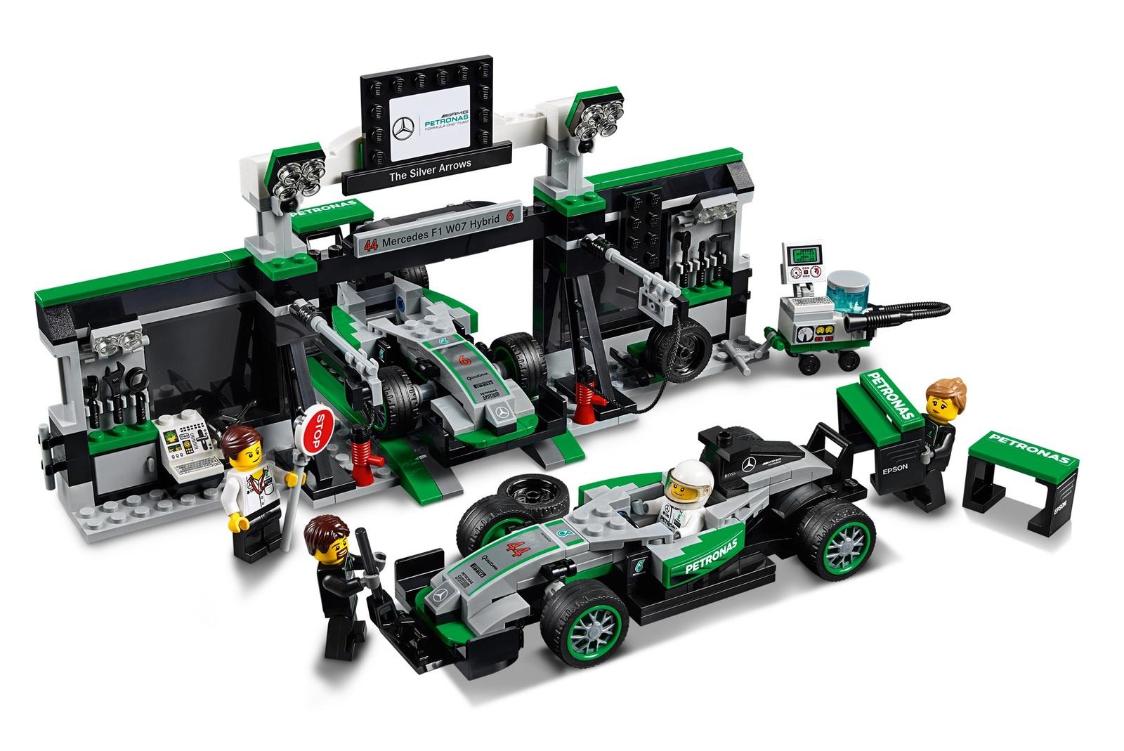 lego speed champions mercedes amg petronas formula one. Black Bedroom Furniture Sets. Home Design Ideas