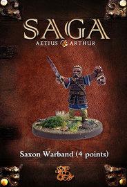 SAGA: Aetius & Arthur - Saxon Starter Warband (25 pc)