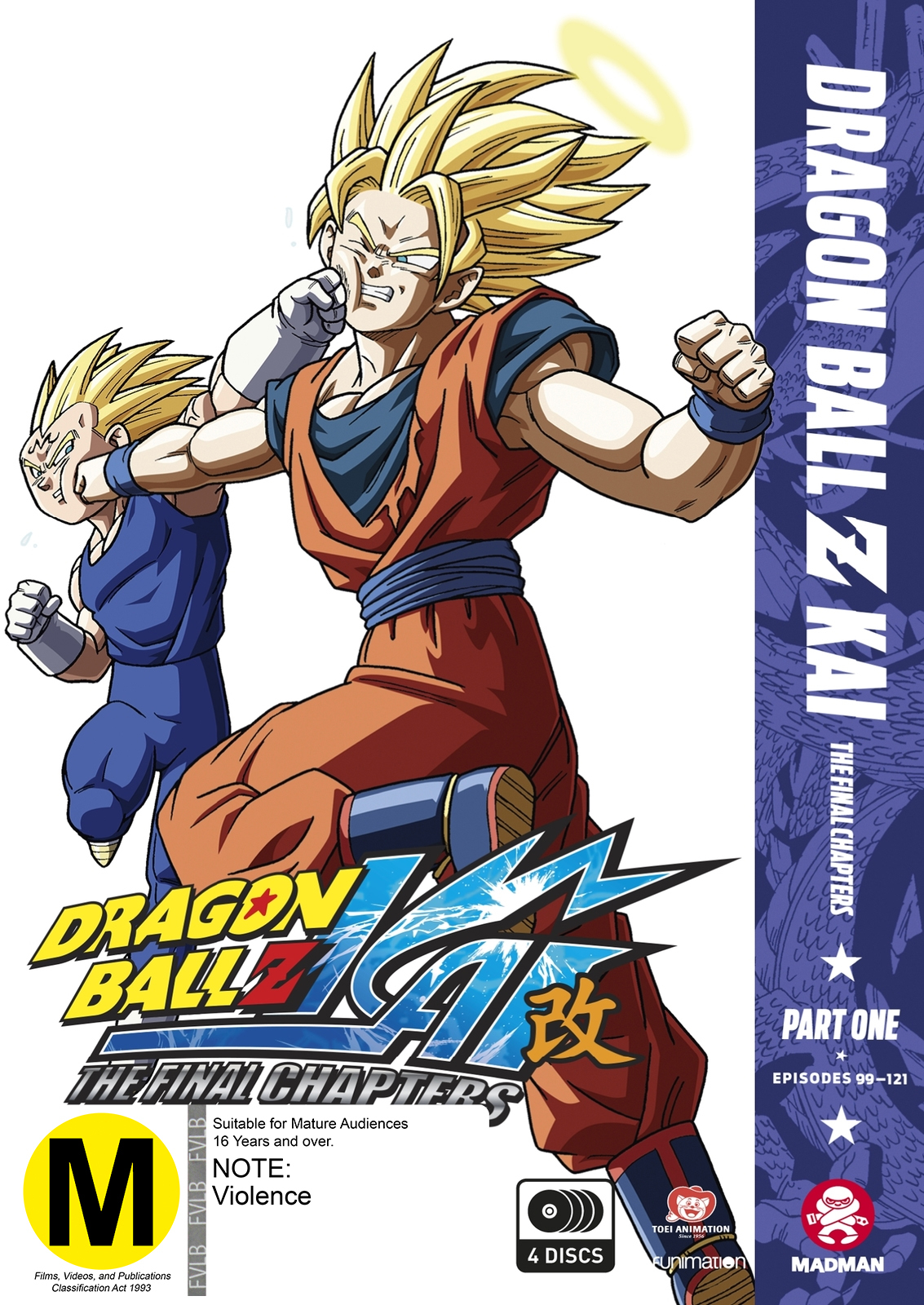 Dragon Ball Z Kai: The Final Chapters Part 1 (eps 1-23) on DVD image