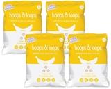 Little Bellies Hoops & Loops - Banana (4 X 50g)