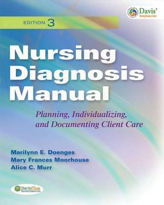 Nursing Diagnosis Manual: Planning, Individualizing, and Documenting Client Care by Marilynn E Doenges image