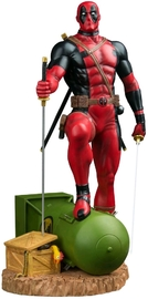 Marvel: Deadpool on Atom Bomb - 1:6 Scale Statue