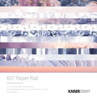 "Kaisercraft: Misty Mountains - 6.5"" Paper Pad"