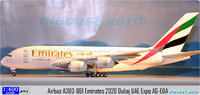 Witty Wings 1/400 Emirates Airbus A380-861 Diecast Model