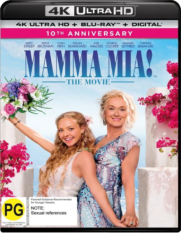 Mamma Mia!: The Movie on UHD Blu-ray