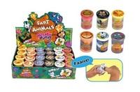 Fart Animals - Noise Putty (Assorted Designs)