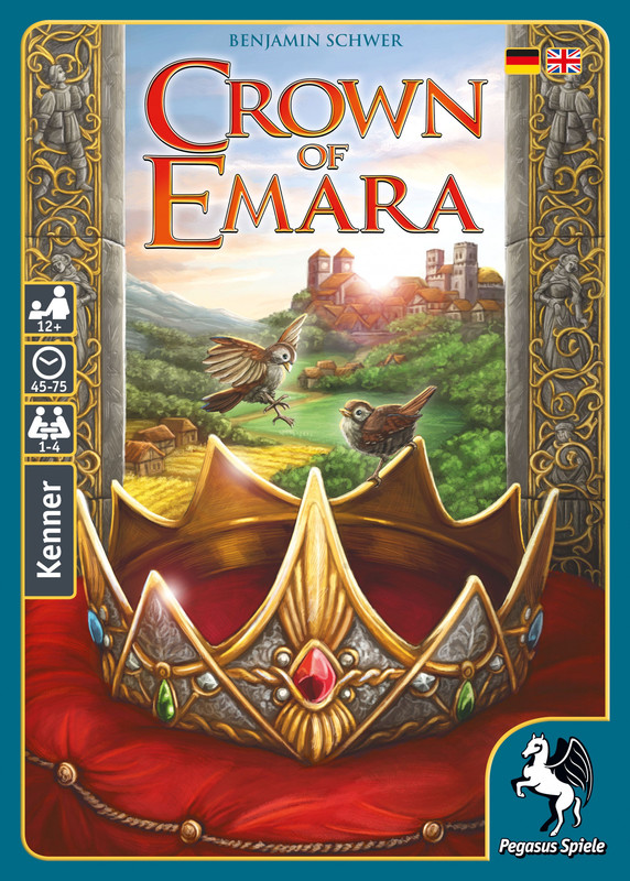 Crown of Emara - Board Game