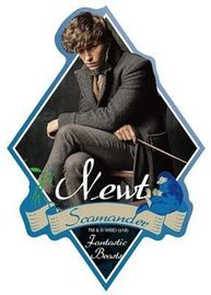 Fantastic Beasts: Travel Sticker 1 Newt Scamander