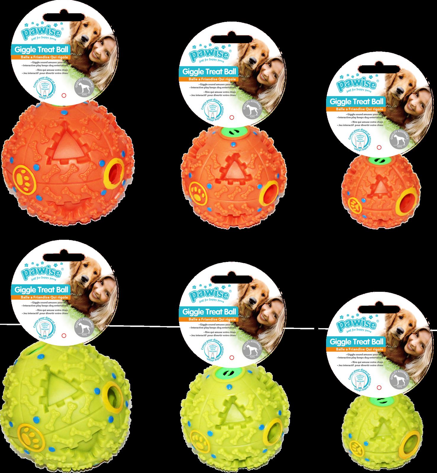 Pawise: Giggle Treat Ball - 11.5 cm image