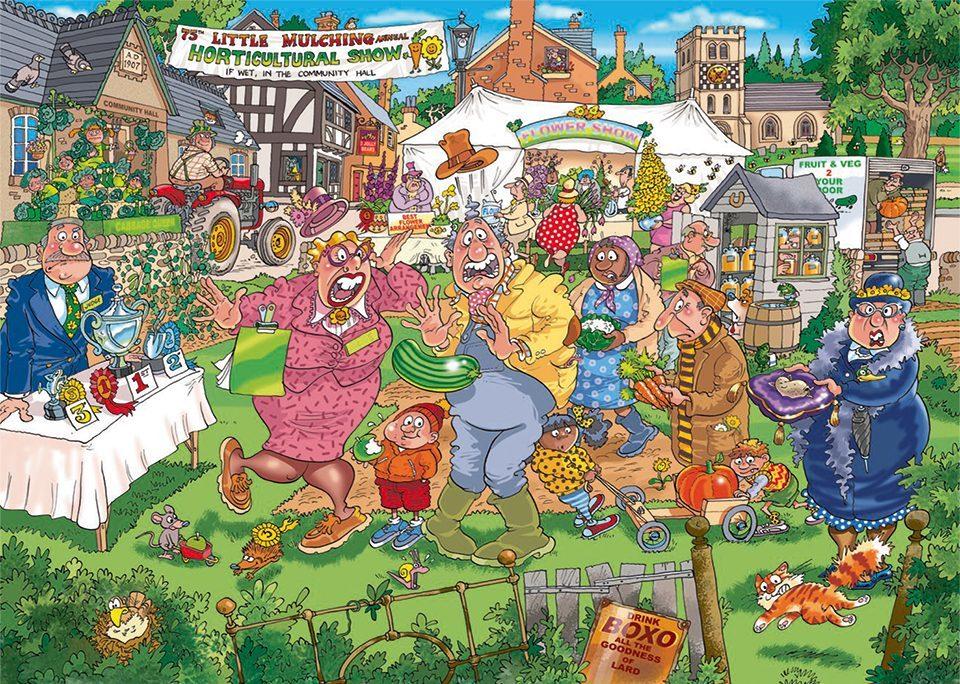 Wasgij: 1000 Piece Puzzle - Originals #32 (The Big Weigh In) image