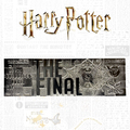 Harry Potter: Quidditch World Cup Ticket (Silver Plated) - Metal Replica
