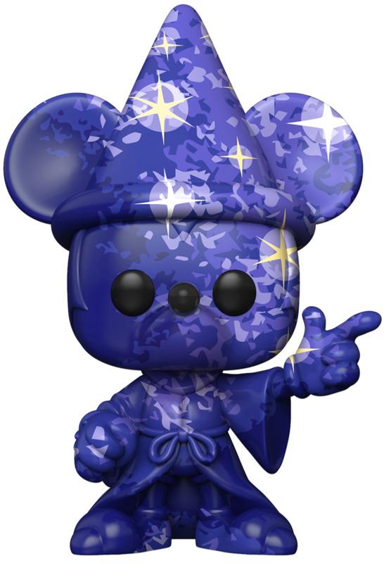 Fantasia: Sorcerer Mickey (Dark Blue) Pop! Vinyl Figure + Protector