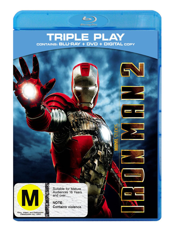 Iron Man 2 on DVD, Blu-ray