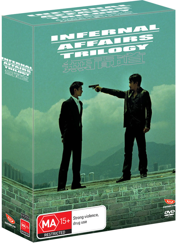 Infernal Affairs Collection Box Set on DVD