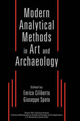 Modern Analytical Methods in Art and Archeology image