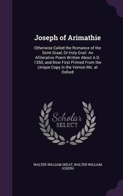 Joseph of Arimathie by Walter William Skeat image
