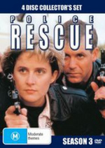 Police Rescue - Season 3 (4 Disc Set) on DVD