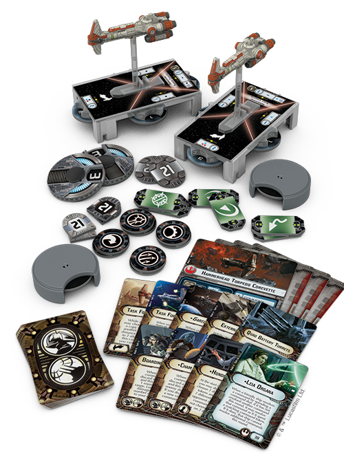 Star Wars Armada Hammerhead Corvettes Expansion Pack image