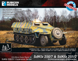 Rubicon 1/56 SdKfz 250/7 & 251/2 Expansion Set