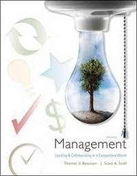 Management by Thomas S Bateman image