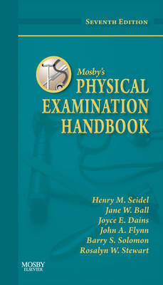Mosby's Physical Examination Handbook by Henry M Seidel image