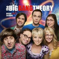 Big Bang Theory 2018 Square Wall Calendar