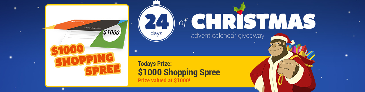 Day 13: $1000 Shopping Spree