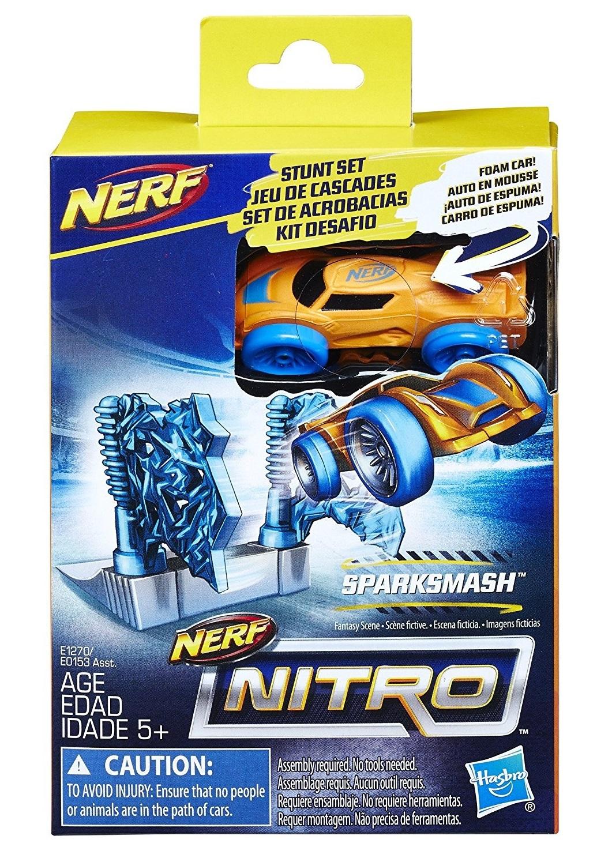 Nerf Nitro Stunt Set Sparksmash Toy At Mighty Ape Nz