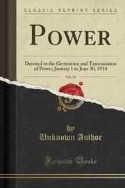 Power, Vol. 39 by Unknown Author image