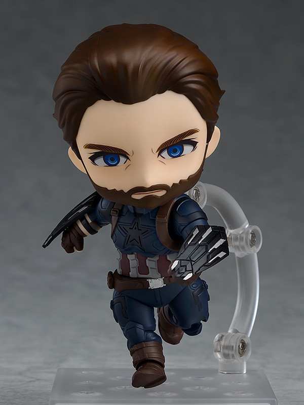 Nendoroid: Captain America (Infinity Edition) - Articulated Figure