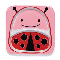 Skip Hop: Zoo Divided Plate - Ladybug
