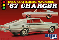 MPC: 1/25 1967 Dodge Charger - Model Kit