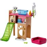 Barbie: Pet Station & Puppy Playset