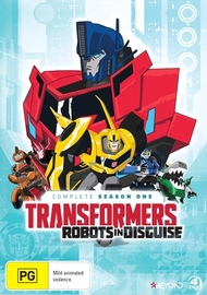 Transformers: Robots In Disguise - Complete Season 1 on DVD
