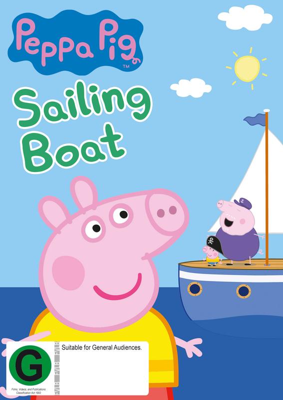 Peppa Pig: Sailing Boat on DVD