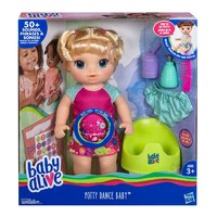 Baby Alive: Potty Dance Baby Doll - Blonde Hair