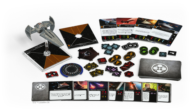Star Wars X-Wing Second Edition Sith Infiltrator Expansion Pack