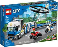 LEGO City: Police Helicopter Transport (60244) image