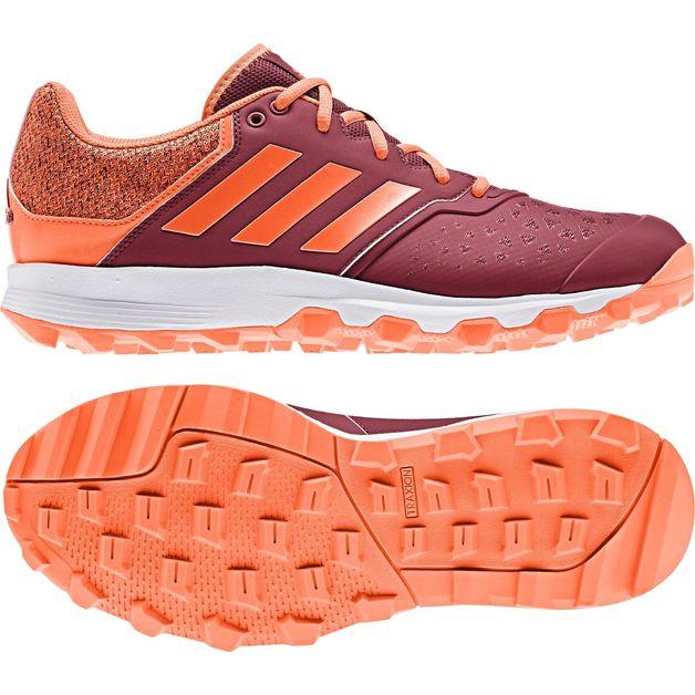 Adidas: Flexcloud Hockey Shoes Orange (2020) - US10.5