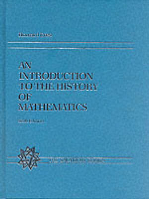 An Introduction to the History of Mathematics by Howard Eves image