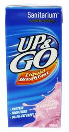 UP&GO Liquid Breakfast Strawberry 350ml (12 Pack)