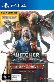 The Witcher 3: Blood and Wine for PS4