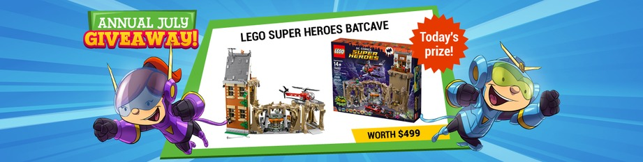 LEGO Superheroes Batcave!