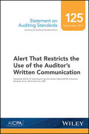 Statement on Auditing Standards, Number 125 by Aicpa
