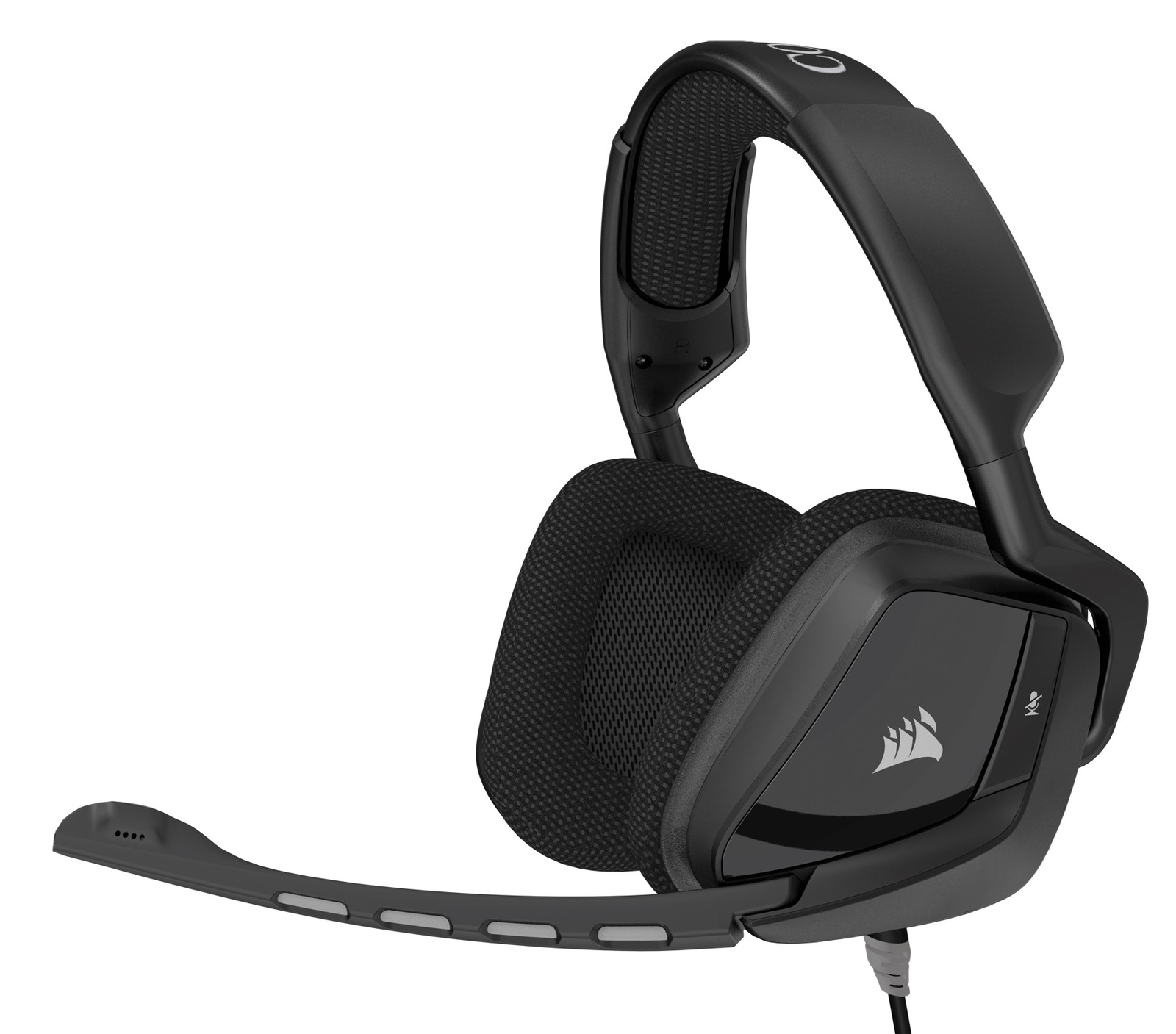Corsair Gaming VOID Surround Analog 3.5 mm USB Dolby 7.1 Comfortable Gaming Headset - Carbon for PC Games image